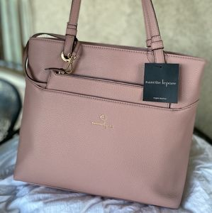 Mauve shoulder bag